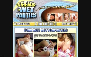 Pink cotton panties - fulfill your wet panty dreams!
